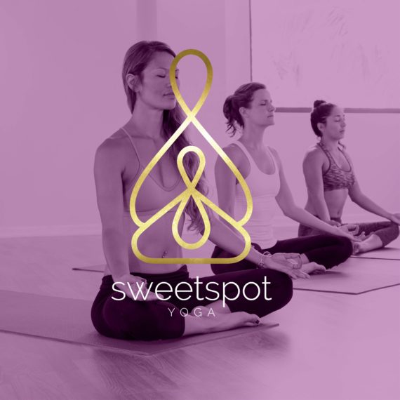 sweetspot, yoga, logo, design, logo design, graphic design